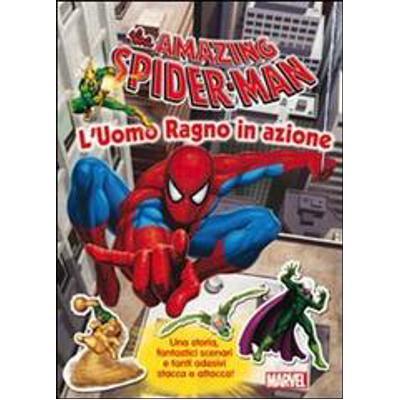 The Amazing Spider-Man con adesivi
