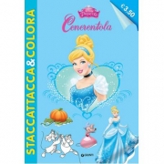 Staccattacca e colora Cenerentola Disney princess