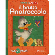 Il brutto anatroccolo libro puzzle