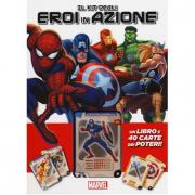 Il kit degli eroi in azione libro con carte