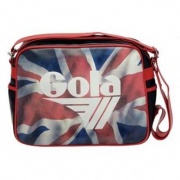 Borsa Gola Redford Britannia Black/Red/White