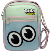 Borsa Gola Mini Bronson Seymour Pastel Blue/Past Green/Past Pink
