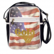 Borsa Gola Mini Bronson USA Navy/Whte/Red/Gold
