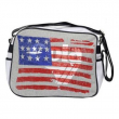 Borsa Gola Redford Jersey Usa Vintage Grey/Black/White