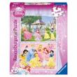 Puzzle Disney Princess  2x100 pezzi