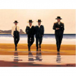 Jack Vettriano - Passeggiata alla spiaggia 2000 pezzi