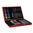 Valigetta colori in legno 68 pezzi