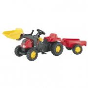 023127 RollyKid-X con ruspa e rimorchio Rolly Toys