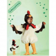 Costume Galletto baby tg. 3/4 anni