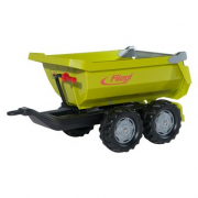 Rimorchio rollyHalfpipe trailer fliegl Rolly Toys