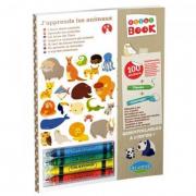 """Album Sticker e colori """"Gli animali del mondo"""""""