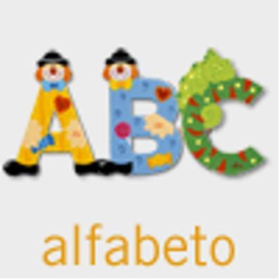 Lettere alfabeto Circus cm. 10 Sevi