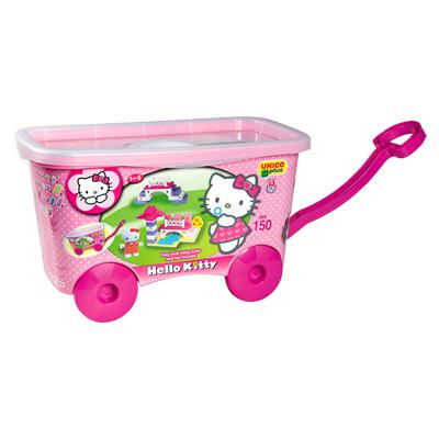 Unico Secchiello trainabile Hello Kitty da 150 pezzi