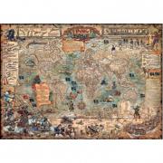Puzzle Mondo dei pirati 3000 pezzi