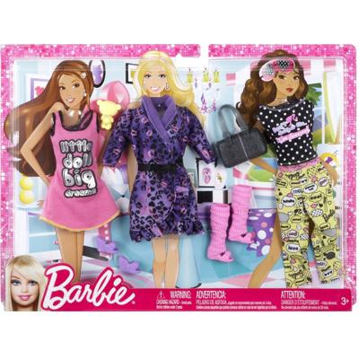 Barbie - Vestiti Tanti Look Festa in Pigiama 2ebad4fe15f
