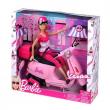 Barbie con Vespa