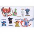 Pokémon blister 4 personaggi