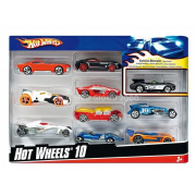 Hot wheels 10 veicoli