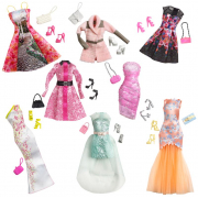 Barbie vestito look glamour CFX92