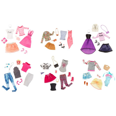 Look fashion vestito barbie 2 pack cfy06