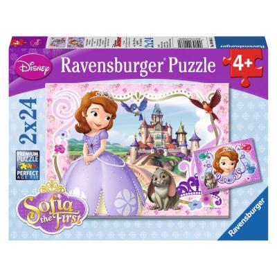 Sofia la Principessa Puzzle 2 x 24 Pezzi