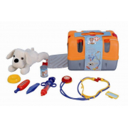 Valigetta veterinario con cagnolino