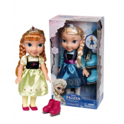 Bambola Frozen con pattini