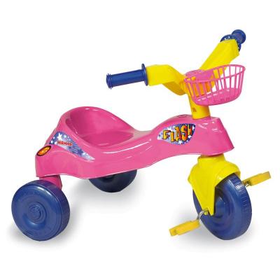 Triciclo Flash Rosa 01377 biemme