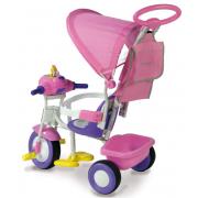 Triciclo Baby Plus Rosa 1497-RS biemme