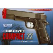 Pistola gas compact 22 black