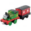 Thomas carica e sfreccia Percy