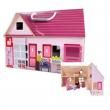 Casa delle bambole portatile in legno Janod