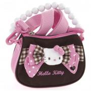 Borsetta a mano con tracolla Pink Brown Hello Kitty