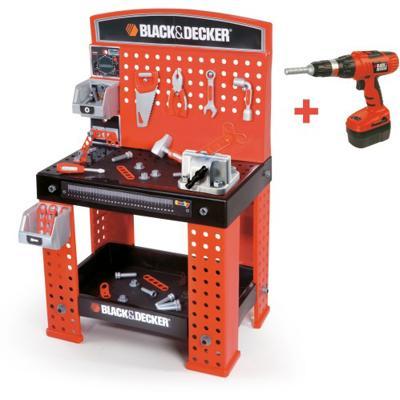 Banco lavoro black decker giochi giocattoli for Tavolo lavoro black decker