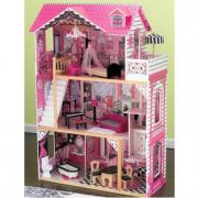 Casa delle bambole in legno Amelia