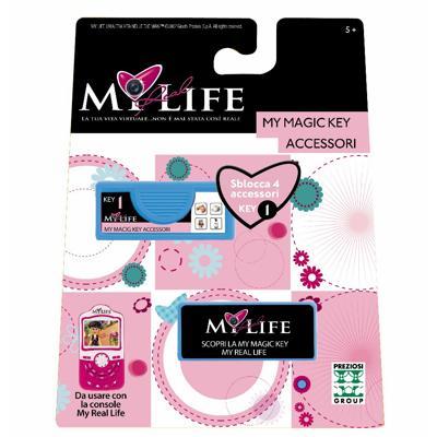 My Real Life My magic key accessori
