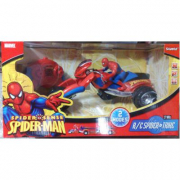 Moto Spiderman radiocomandata e lancia missili
