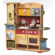 Cucina in legno premium giocattolo