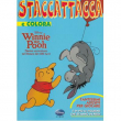 Album da colorare con adesivi staccattacca - Winnie Pooh
