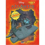 """Libro """"Atlantis, l'Impero Perduto"""" con adesivi"""