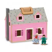 Casa delle bambole in legno trasportabile Melissa and Doug