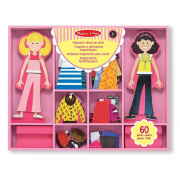 Vestiti magnetici Abby e Emma Melissa and Doug