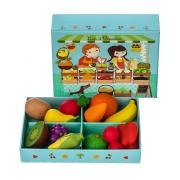 Frutta e verdura Louis & Clementine in legno Djeco