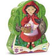 Puzzle Cappuccetto Rosso 36 pezzi Djeco