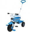 Triciclo comfort evolutivo Blu con timone