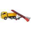 Bruder 02740 - Camion Man con nastro trasportatore