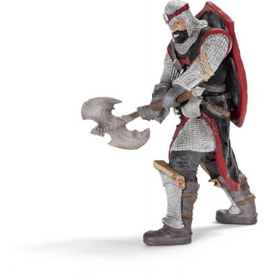 Cavaliere drago con ascia da guerra