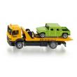 Camion soccorso stradale con auto Siku