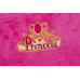 Poltroncina peluche rosa Princess