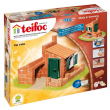 Teifoc casetta con giardino 110 pz